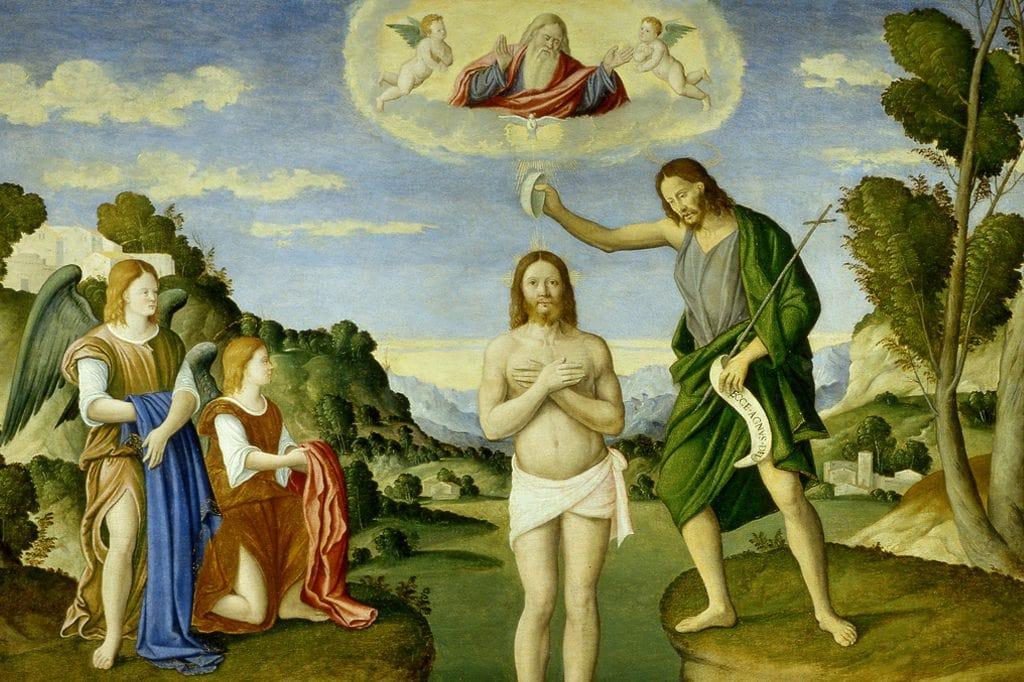 Il Battesimo Di Gesu Nel Catechismo Della Chiesa Cattolica