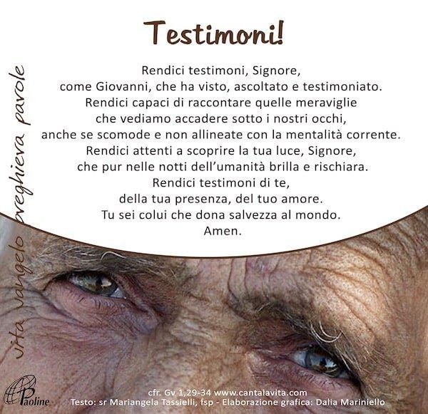 Commento al Vangelo di domenica 19 Gennaio 2020 per bambini/ragazzi – Sr. Mariangela Tassielli