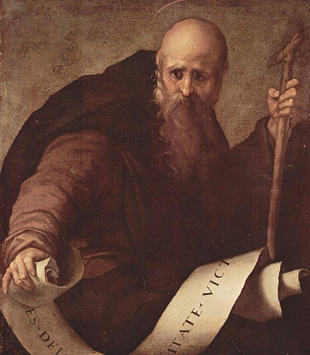 Sant'Antonio abate di Pontormo