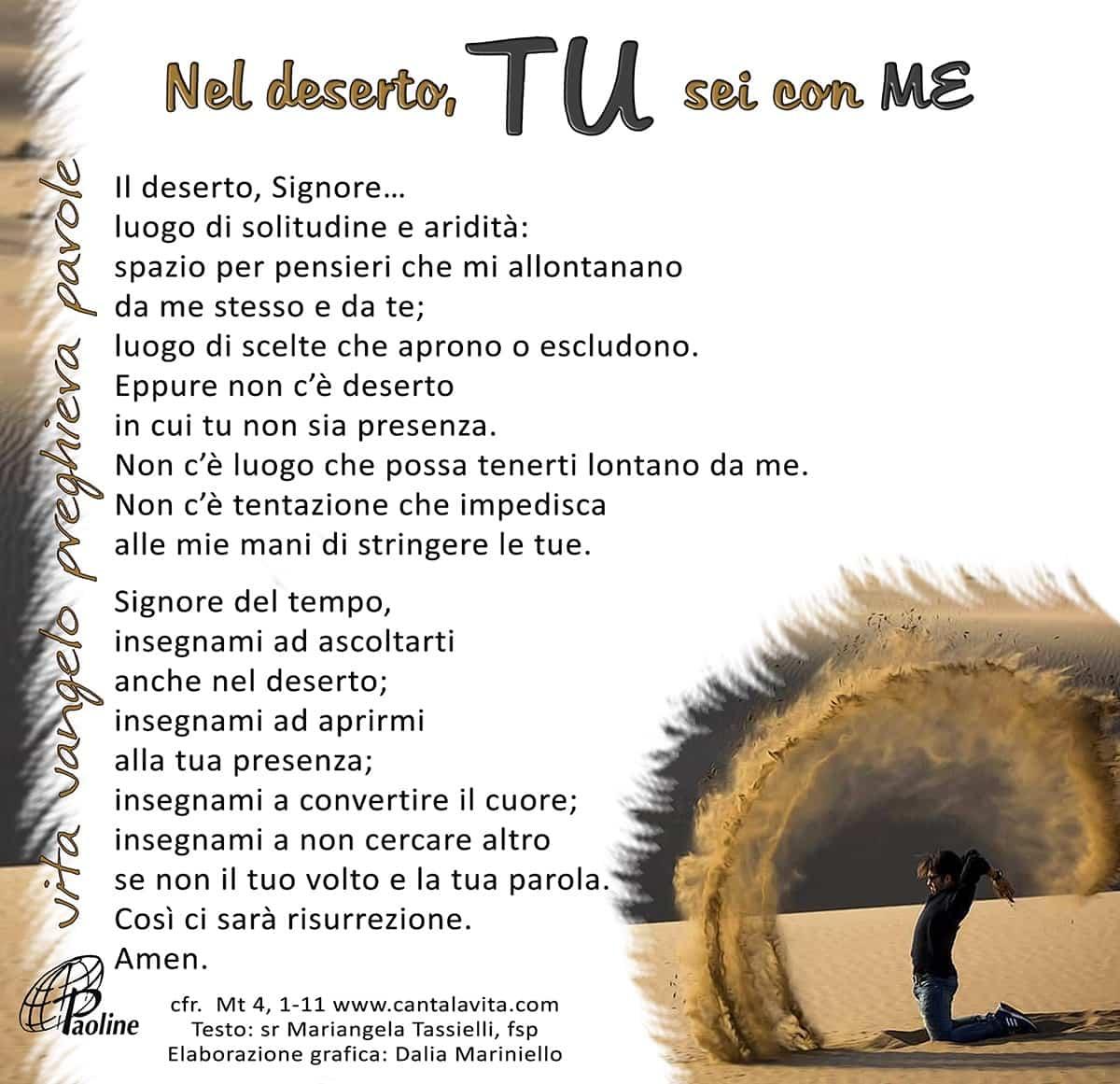 Commento al Vangelo di domenica 1 Marzo 2020 per bambini/ragazzi – Sr. Mariangela Tassielli