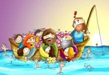 Commento (e immagini) al Vangelo di domenica 24 Gennaio 2021 per bambini - Fano