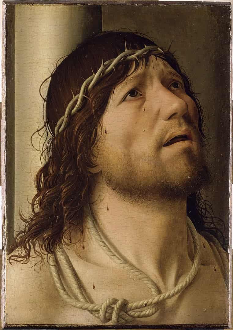 Antonello da Messina, Cristo alla colonna, 1476, Museo del Louvre - Parigi
