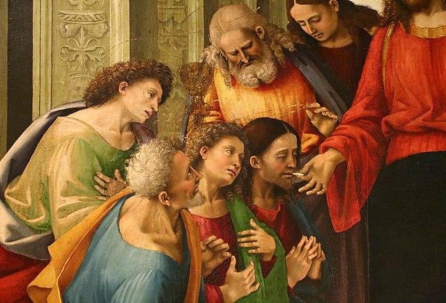 Luca signorelli, comunione degli apostoli, 1512, dalla chiesa superiore del gesù a cortona