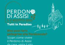 Perdono di Assisi 2021