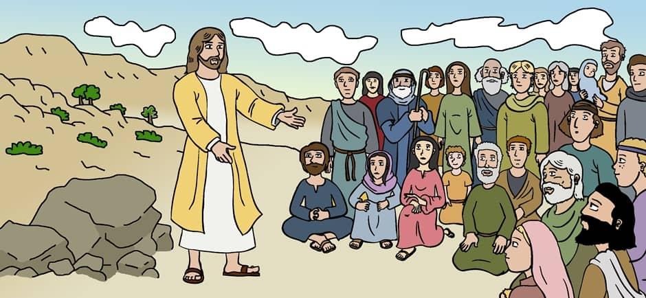 Il Vangelo del giorno in un disegno
