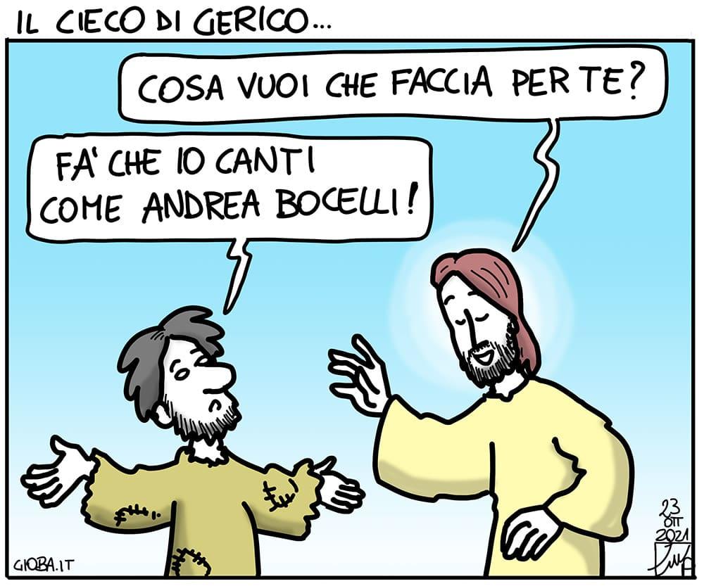 la vignetta della domenica di don Giovanni Berti